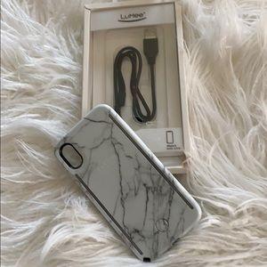 iPhone X Duo LuMee case